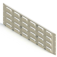 Picture of Plastic Louvred Panel - Small