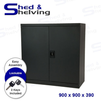 Picture of Metal Stationery Cabinet - 900 Black